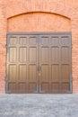Old doors of iron photo beautiful made Stock Image
