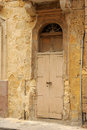 Old doorway, Valetta, Malta. Royalty Free Stock Photos