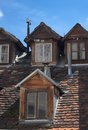 Old dormers. Stock Photography