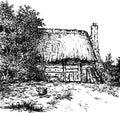 Old Dutch barn.