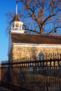 Old Dutch Church in Sleepy Hollow, New York Royalty Free Stock Photo