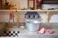 Old Dutch kitchen Royalty Free Stock Photo