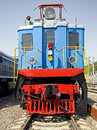 Old electric locomotive 2 Stock Image