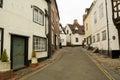 Old English Architecture on Cartway, Bridgnorth Royalty Free Stock Photo