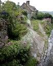 Old English Cottage Royalty Free Stock Photo