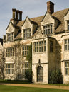 Old English manor house Royalty Free Stock Photo