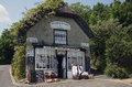 Old English Tearooms Godshill Royalty Free Stock Photo