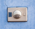 The old entry buzzer Royalty Free Stock Photo