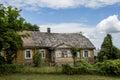 Old European farmhouse Royalty Free Stock Photo