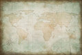 Old exploration and adventure map background or backdrop Royalty Free Stock Photography