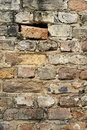 Old exterior brick wall Stock Image