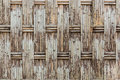 Old fabricate bamboo wall texture for background Royalty Free Stock Image