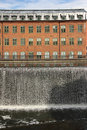 Old factory. Industrial landscape. Norrkoping. Sweden Royalty Free Stock Photo