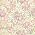 Old faded floral wallpaper for your next project template for decoration and design Stock Images