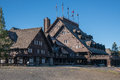 Old Faithful Inn Royalty Free Stock Photo
