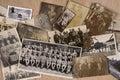 Genealogy - Old Family Photographs Royalty Free Stock Photo
