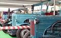 Old farm equipment at oktoberfest, munich germany Royalty Free Stock Photo