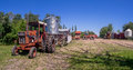 Old farm equipment Royalty Free Stock Photo
