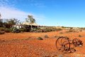 Old Farm house  in West Australian outback Royalty Free Stock Photo