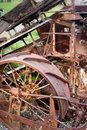 Old farm machinery Royalty Free Stock Photo