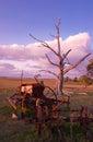 Old farm machinery Royalty Free Stock Photo
