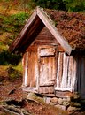 Old Farm Storage Shed Royalty Free Stock Photo