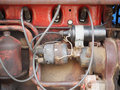 Old Farm Tractor Motor Royalty Free Stock Photo