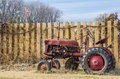 Old farm tractor Royalty Free Stock Photo