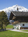 Old farm in Tyrol Stock Photo