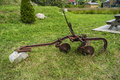 Old farming equipement Royalty Free Stock Photo