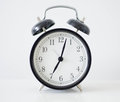 Old-fashioned alarm clock Royalty Free Stock Photo