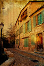 Old-fashioned building in Europe Royalty Free Stock Photo