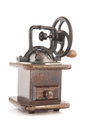 Old-fashioned coffee grinder Royalty Free Stock Photography