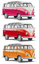 Old-fashioned european van Stock Photo