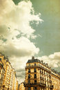 Old fashioned paris france with space for text or image Stock Image
