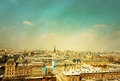 Old-fashioned paris france Royalty Free Stock Photo