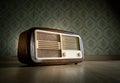 Old fashioned radio Royalty Free Stock Photo