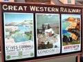 Railway Destination Adverts