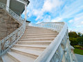 Old-fashioned stairway Royalty Free Stock Photography