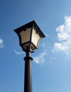 Old Fashioned Street Light Stock Photo