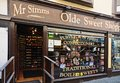 Old fashioned sweet shop stafford mr simms olde shoppe in the town centre staffordshire england uk western europe Royalty Free Stock Image