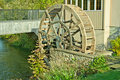 Old Fashioned Water Wheel Royalty Free Stock Photography
