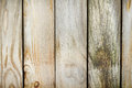 Old fence made of weathered boards Royalty Free Stock Images