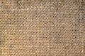 Old fiberboard texture of a brown piece of Royalty Free Stock Photo