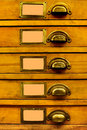 Old Filing Cabinet Stock Images