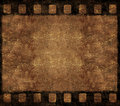Old Film Negative Frame - Grunge Background Royalty Free Stock Photo