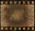 Old Film Negative Frame - Grunge Background Royalty Free Stock Photo