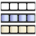 Old film strips Royalty Free Stock Photo