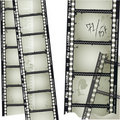 Old filmstrip Royalty Free Stock Image