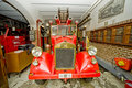 Old fire-engine vehicle Royalty Free Stock Photo